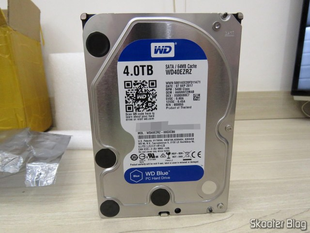 "HDD Western Digital Blue 3.5"" WD40EZRZ 4TB."