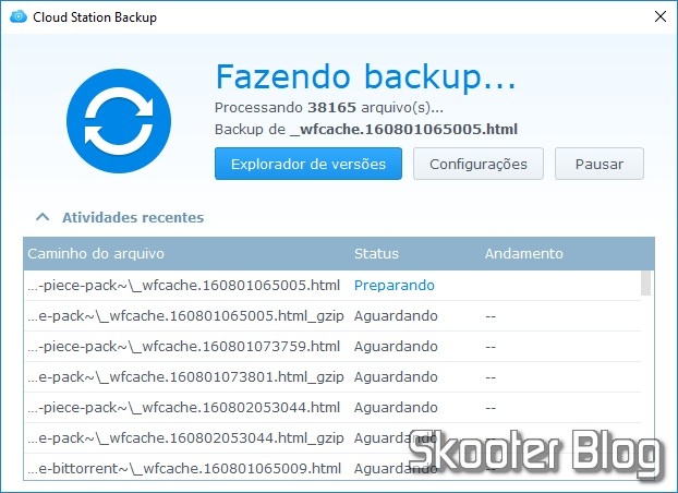 Thunderbird vs. Cloud Station Backup? O culpado pode ser o Avast