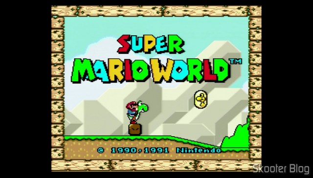 Super Mario World on Super Nintendo 3Chip (2/1/2).