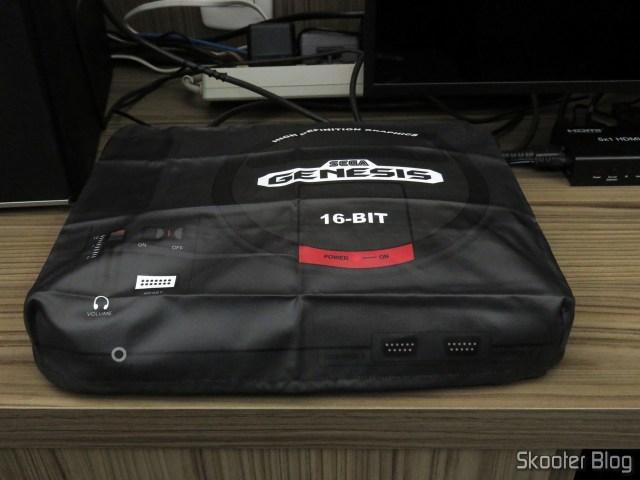 Meu Sega Genesis, com a capa do Printer Boy.