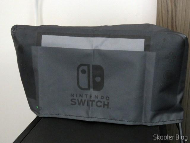 Meu Nintendo Switch, com a capa do Printer Boy.