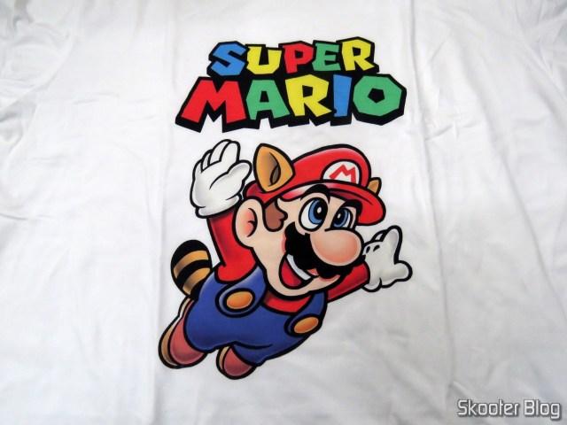 Camiseta do Super Mario.