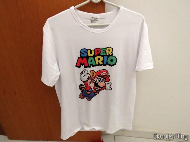 Super Mario t-shirt.