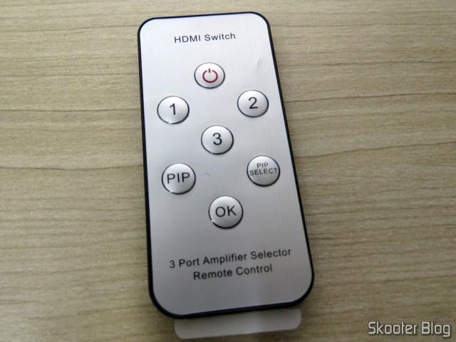 Controle Remoto do Switch HDMI Vention VAA-S20.
