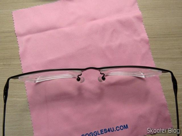 Detail of the eyeglasses Lens 1.67 Super Thin.