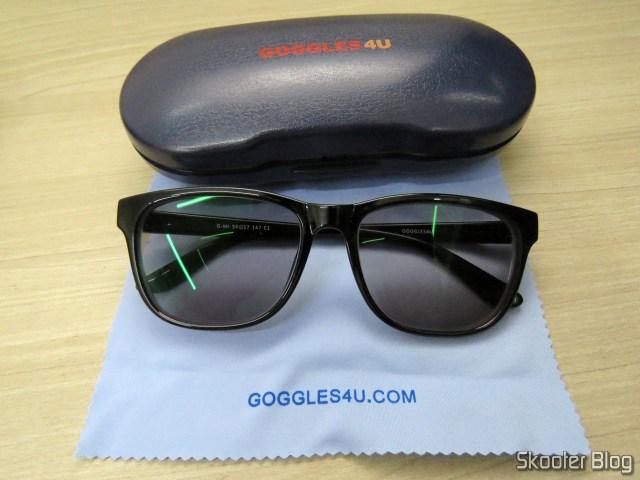 Sunglasses with Goggles4U degree.
