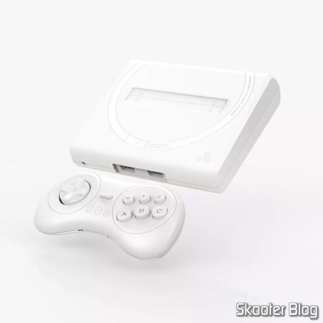 Analogue Mega Sg - Modelo Branco