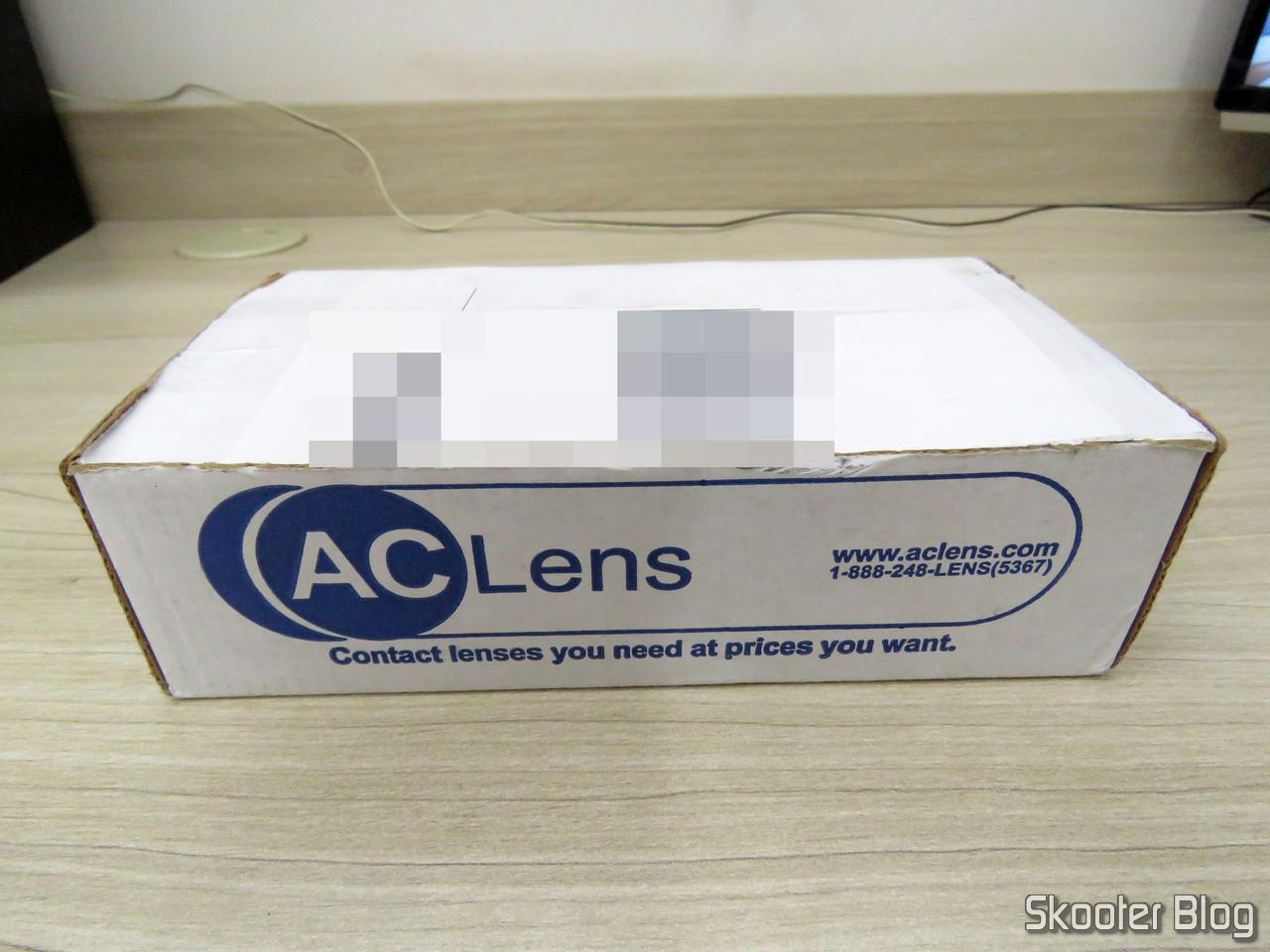 ac899e7b6 Caixa da AC Lens com as Lentes de Contato Asféricas Coopervision Frequency  55 Aspheric + Estojo