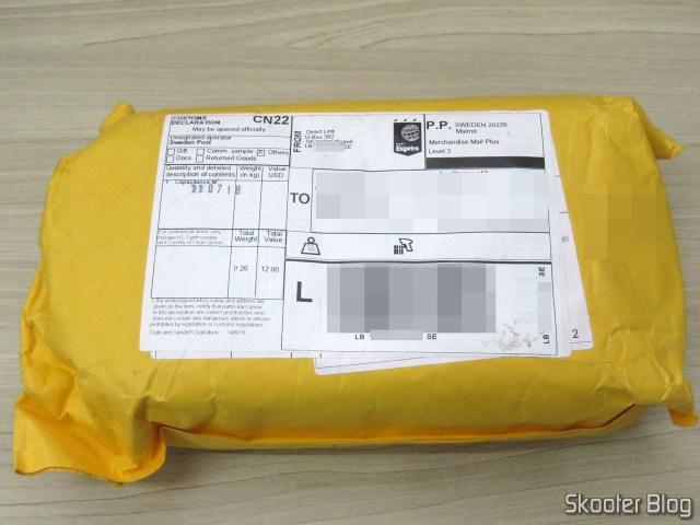 Pacote com o BSIDE ESR02 Pro.
