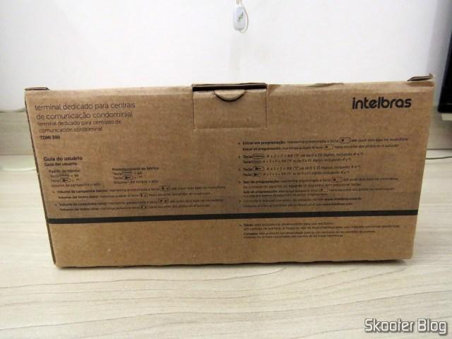 Embalagem do Intelbras TDMI 300 - Interfone/Terminal Dedicado para Condomínios