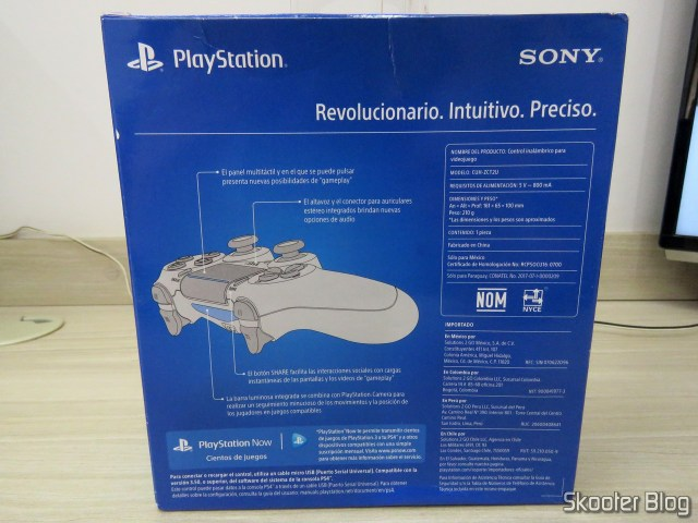 Control PS4 Playstation 4 Dualshock 4 Original Sony Wireless, on its packaging.