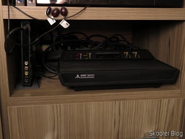 Meu Atari 2600 Vader.