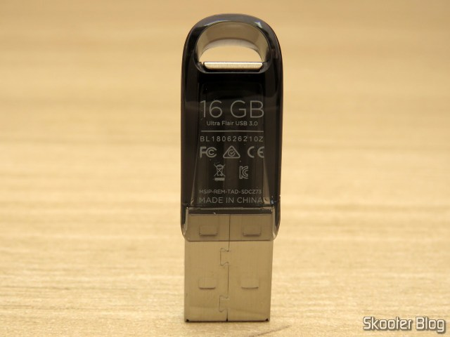 Pendrive Sandisk 16GB Ultra Flair USB 3.0.