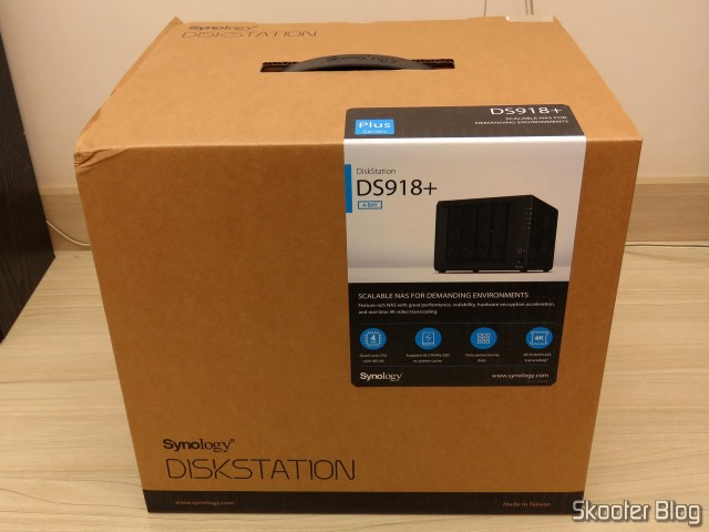 2º Synology 4 Bay on the DiskStation DS918 + (Diskless).
