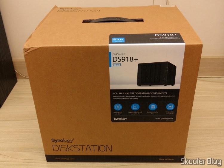 2º Synology 4 Bay on the DiskStation DS918 + (Diskless).