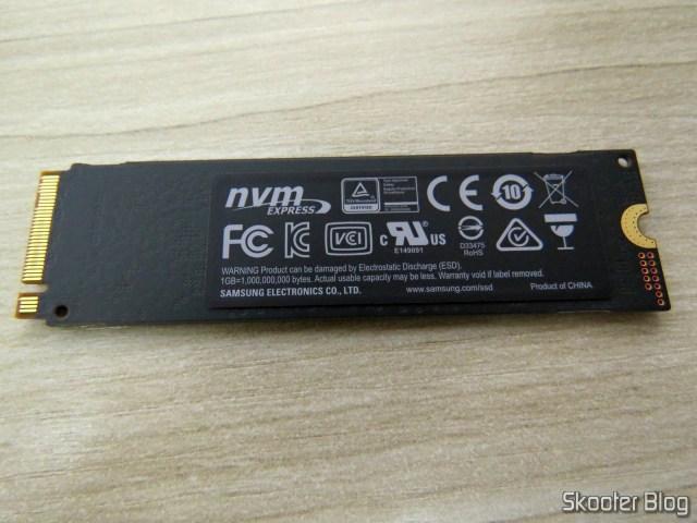 Samsung 970 EVO 500GB - NVMe PCIe M.2 2280 SSD (MZ-V7E500BW).