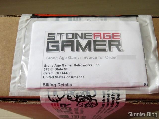 Pacote da Stone Age Gamer com o Master Everdrive X7 Deluxe.