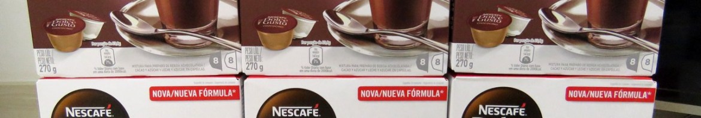 Nescafé Dolce Gusto - 6ª Remessa: 3x Chococino, 3x Nescau.