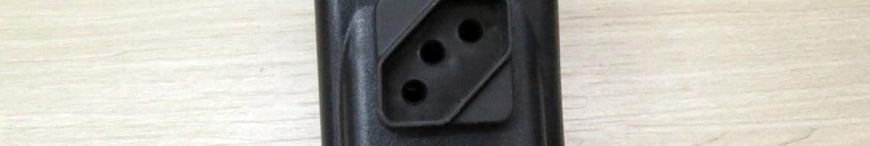 Filtro De Linha 2 Tomadas - Modelo Plug In - Sem Cabo.