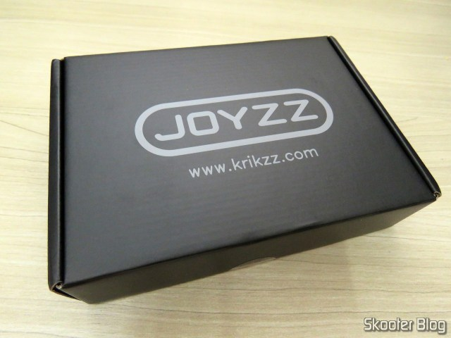 Joyzz, on its packaging.