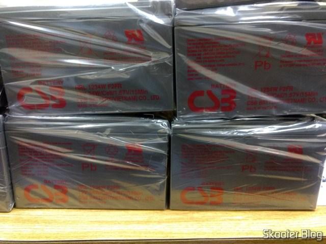 8 Baterias CSB HRL 1234W F2 12VDC 9Ah 34W