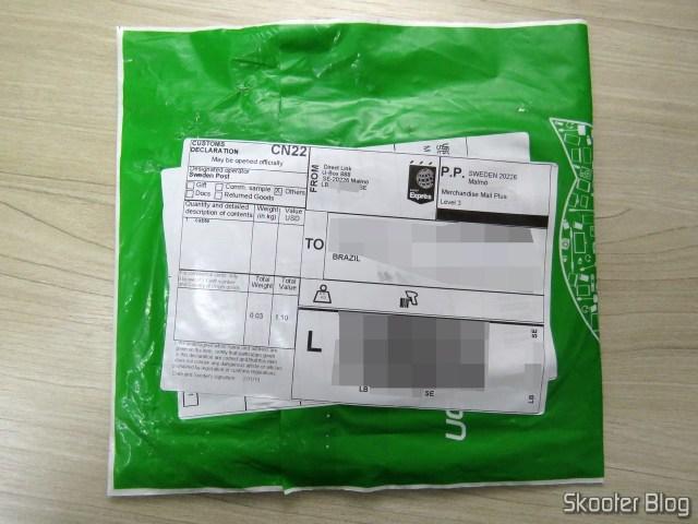 Pacote com o Cabo USB Tipo C para Carga e Dados Ugreen 25cm.
