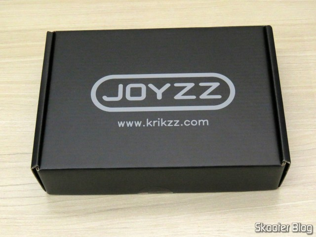 2º Joyzz, on its packaging.