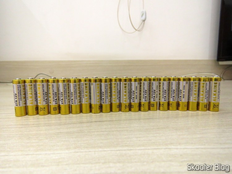 20 27A 12V alkaline batteries.