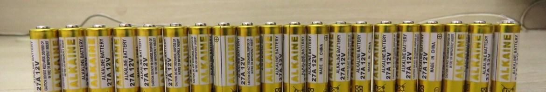 20 Baterias Alcalinas 27A 12V.