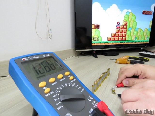 Testing 20 27A 12V alkaline batteries.