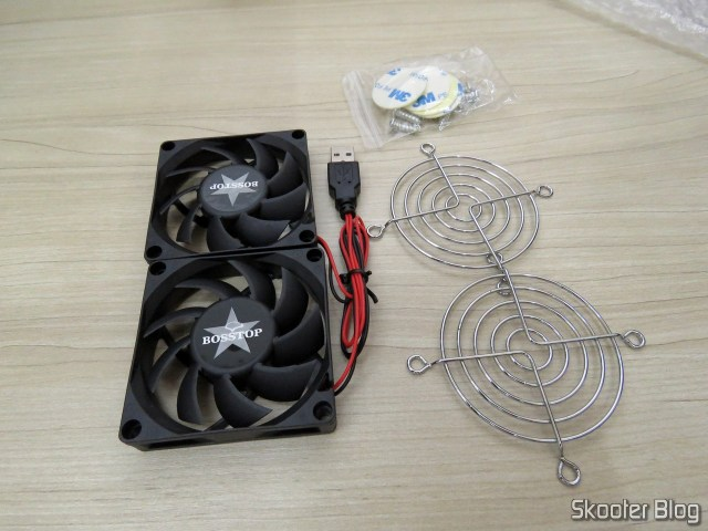 Ventiladores (Fans) for ASUS Router RT-AC86U and RT-AC68U, and accessories.