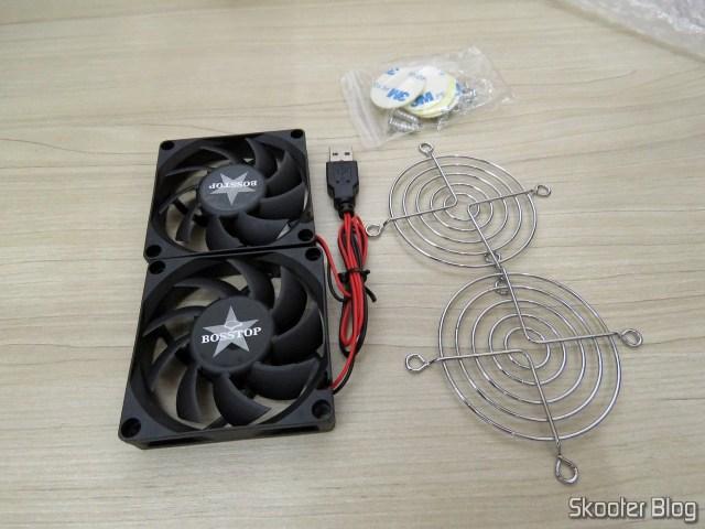 Ventiladores (Fans) para Roteador ASUS RT-AC86U e RT-AC68U, e acessórios.