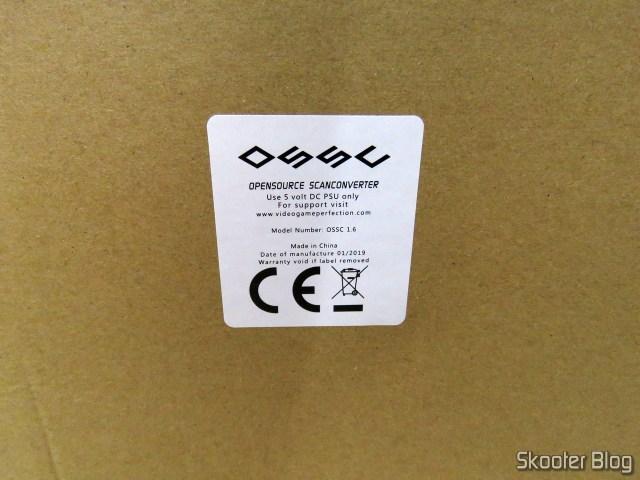 Caixa do OSSC.