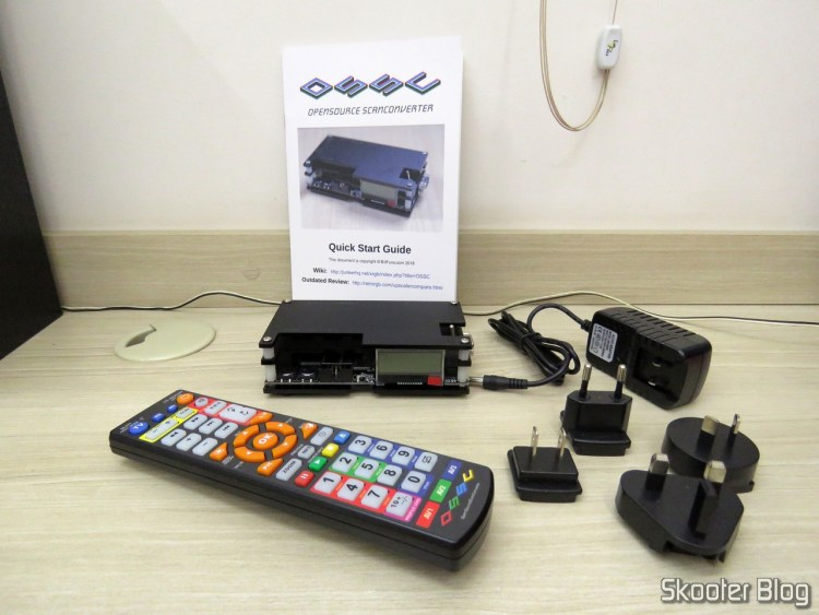 OSSC and their accessories.