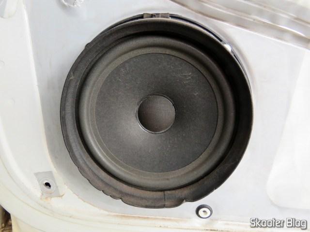 original speaker, stuck in door.