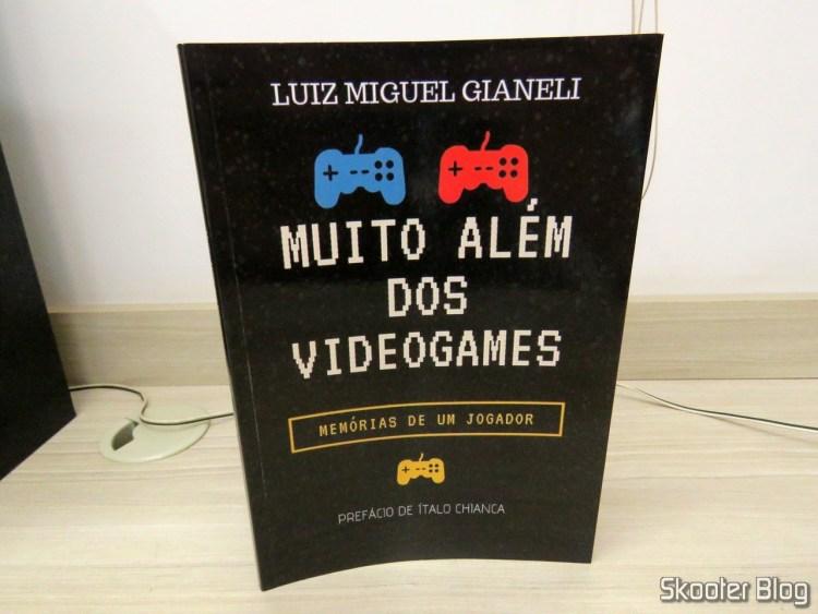 """Livro """"Muito Além dos Videogames: Memórias de um jogador""""."""