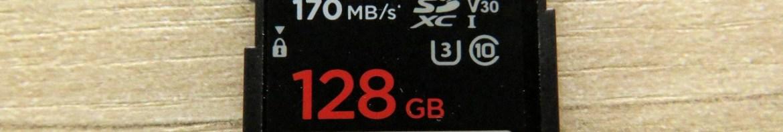Cartão de Memória SDXC Sandisk Extreme PRO 128GB SpeedTM SDXCTM UHS-1.