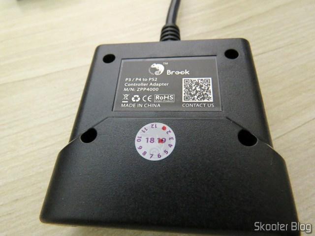 Adaptador de Controle Playstation PS3/PS4 para PS2/PS1/PC Brook Game Controller Super Converters Magic Box P2-BL.