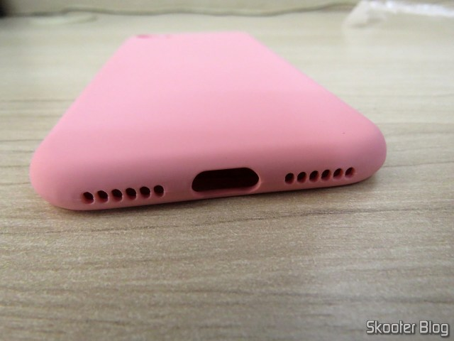 Capa de Silicone para iPhone 7 My Choice.