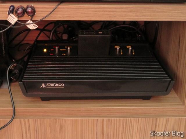 Atari 2600, repaired and running.