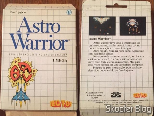 Capa do Astro Warrior da Tec Toy.