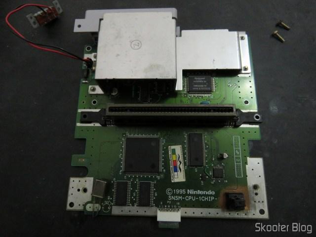 The Super Nintendo 1chip plate.