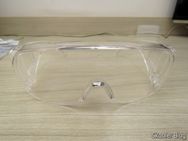 Safety glasses antirrisco polycarbonate UV protection transparent VISION 2000 3M.