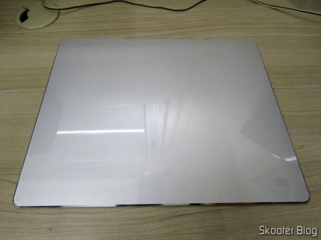 Mouse Pad Aluminum Alloy Metallic Xiaomi 300x240x3mm, still with the plastic shield.
