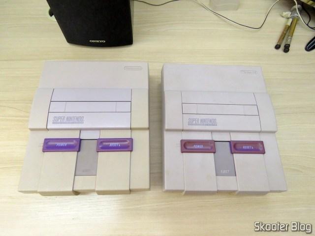 Os dois Super Nintendo, como retornaram.