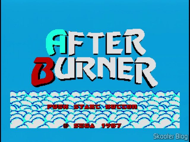 Abertura do After Burner - Master System.