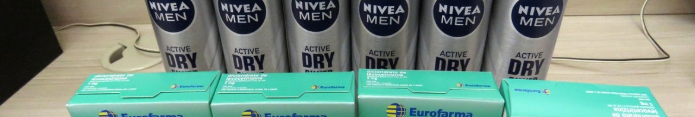 4x Dicloridrato de Levocetirizina 5mg, 6x Desodorante Antitranspirante Aerosol Nivea Silver Protect – Droga Raia – 4º Pedido.