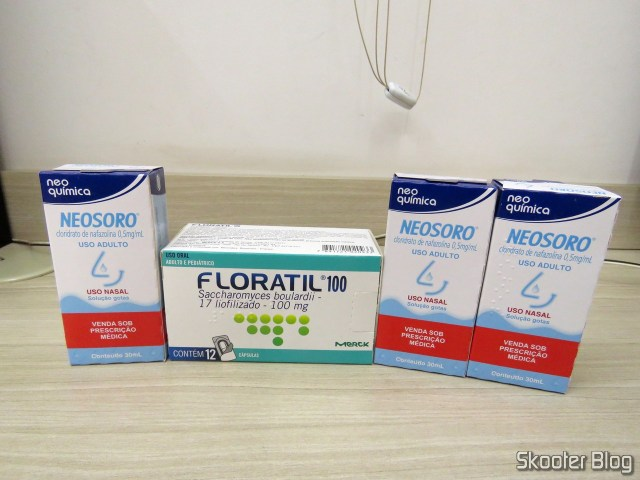 Floratil 100 with 12 and capsules 3x Neosoro adult with 300ml.