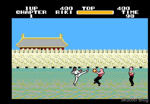 Black Belt - Master System