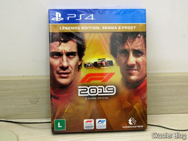 F1 2019 Legends Edition - Senna e Prost - PS4 - Playstation 4 - Formula 1.